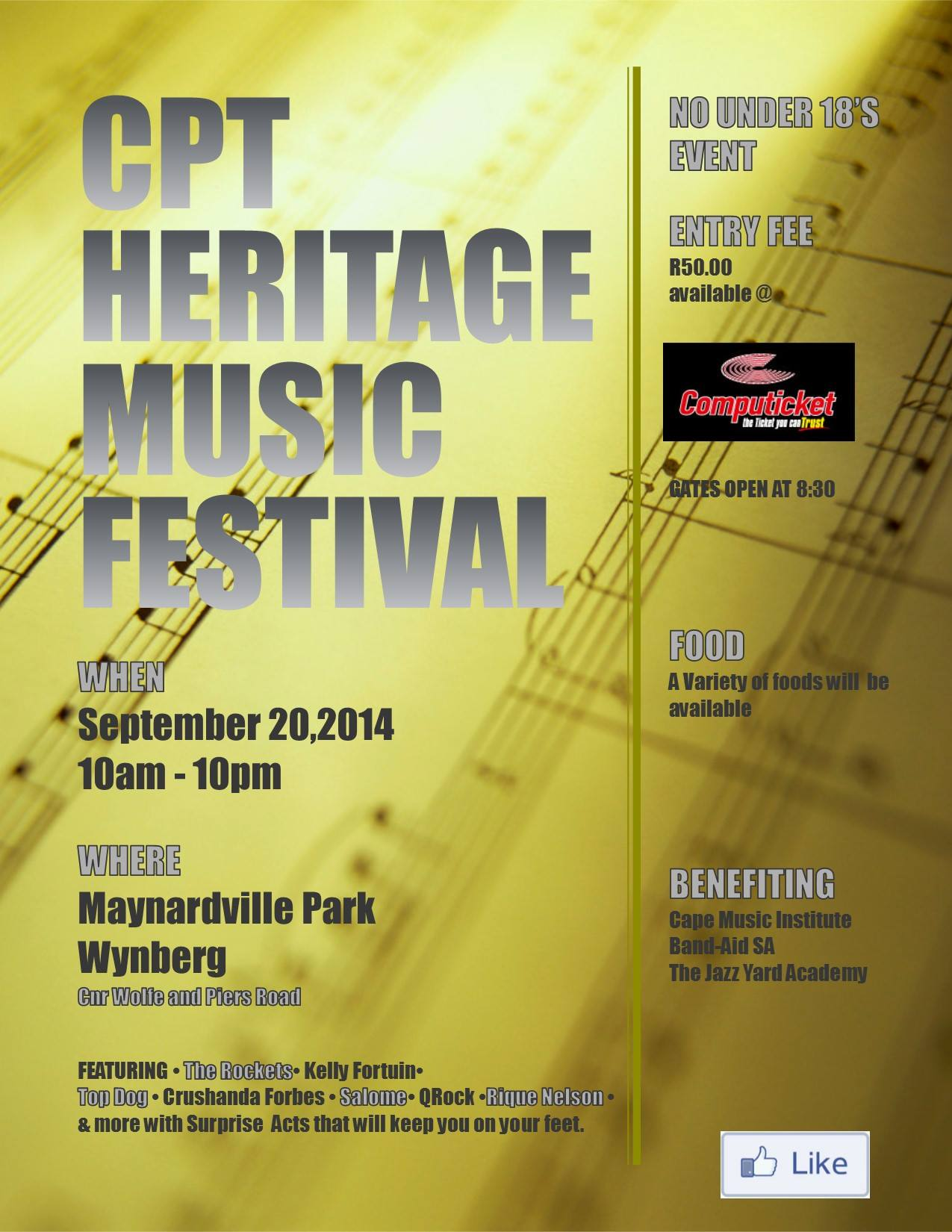 Cape Town Heritage Music Festival