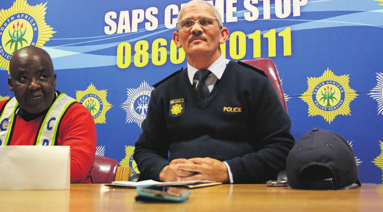 Top Wynberg Cluster Cops Air Their Views on Statistics