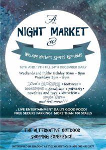 night market - wynberg