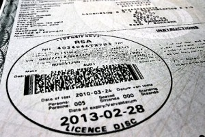 Motorists encouraged to renew vehicle licence discs online