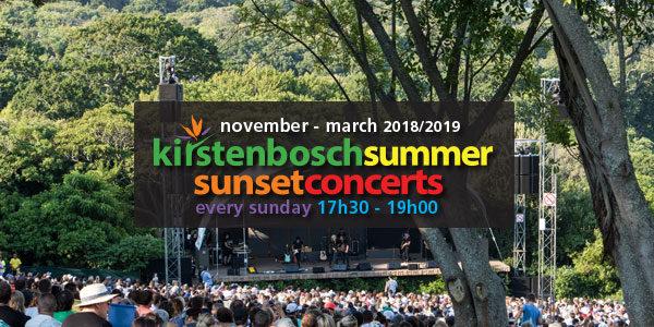 Kirstenbosch Summer Sunset Concerts