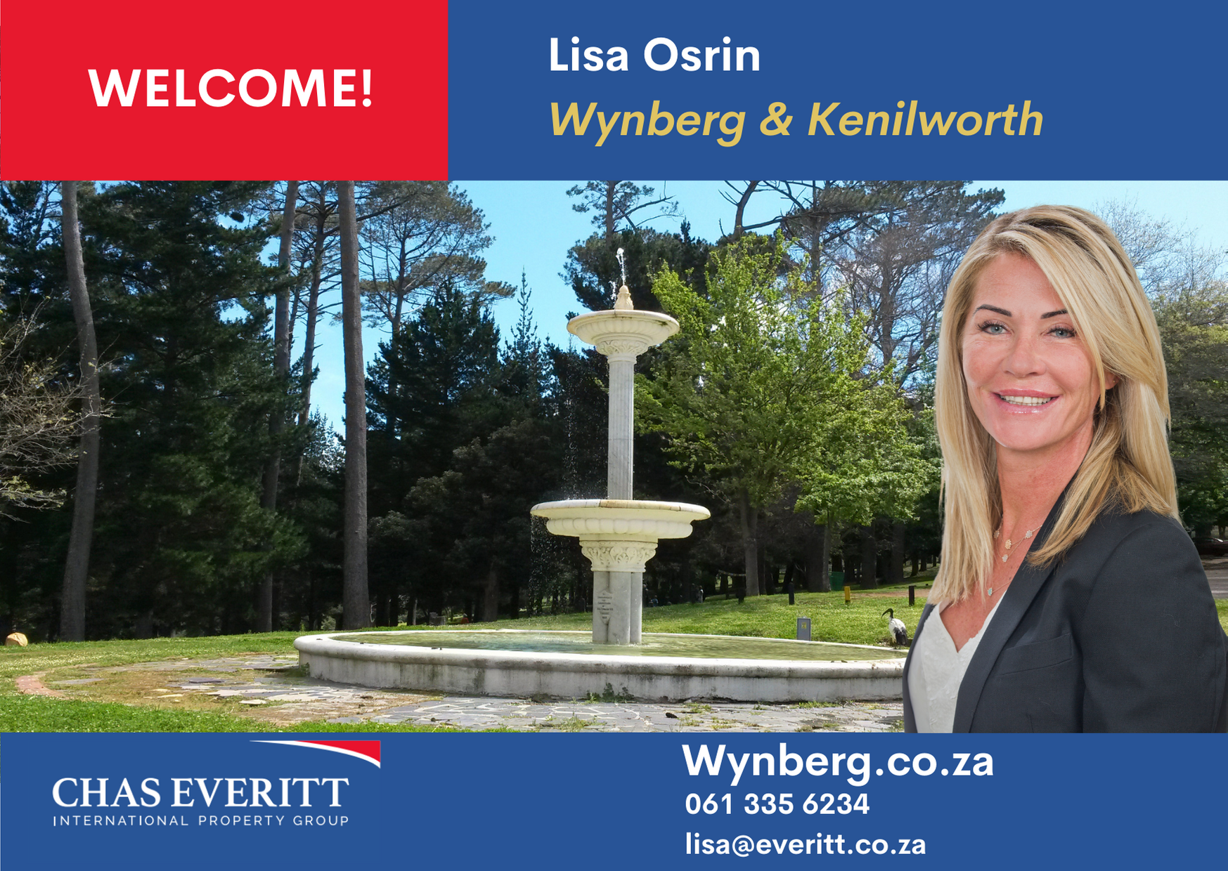Welcome Lisa Osrin